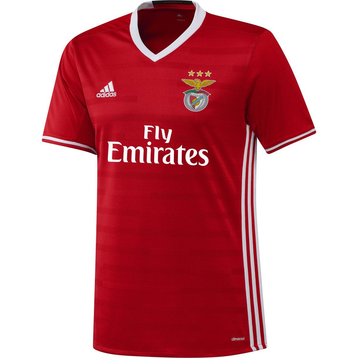 84318db37aa 2016-2017 Benfica Adidas Home Football Shirt