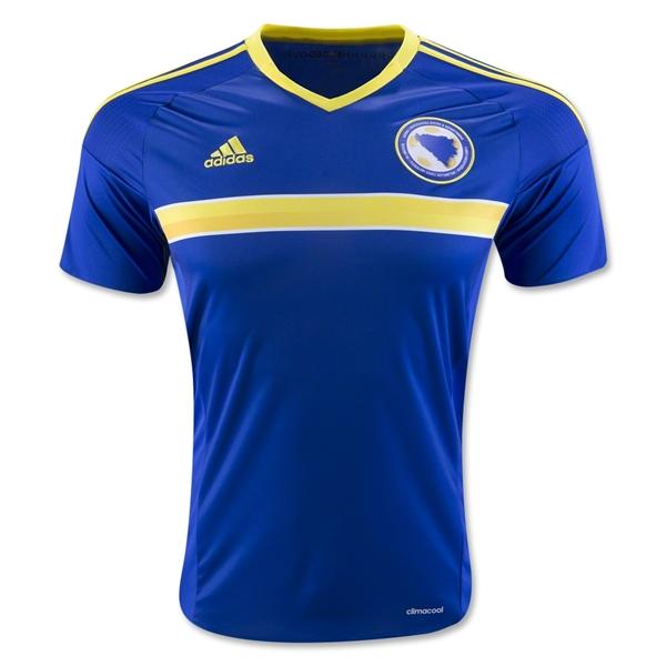 4fed9558b 2016-2017 Bosnia Herzegovina Home Adidas Football Shirt