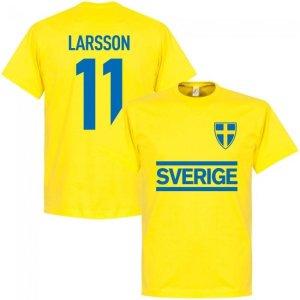 Sweden Larsson Team T-shirt - Yellow