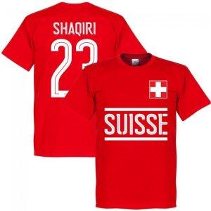 Switzerland Shaqiri Team T-Shirt - Red