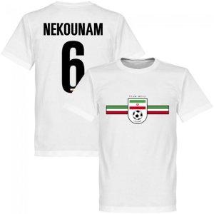 Iran Nekounam Team T-shirt - White