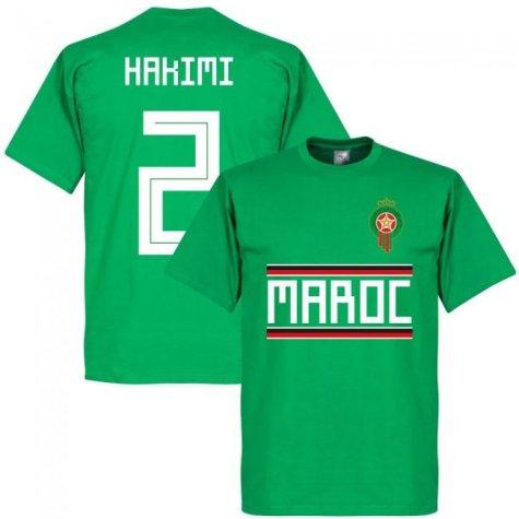 Morocco Hakimi Team T-Shirt - Green