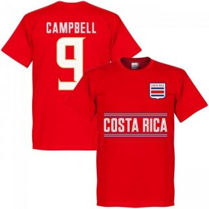 Costa Rica Campbell 9 Team T-Shirt - Red