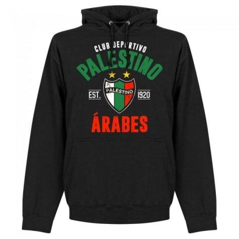 Palestino Established Hoodie - Black