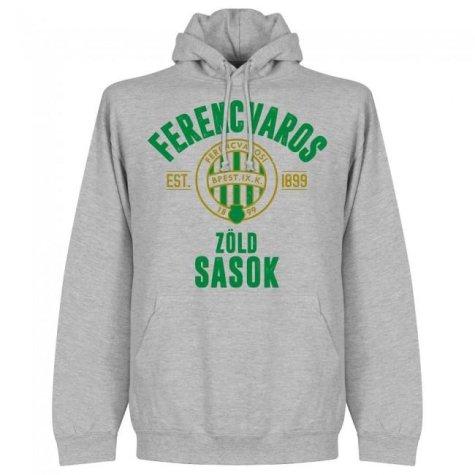 Ferencvaros Established Hoodie - Grey