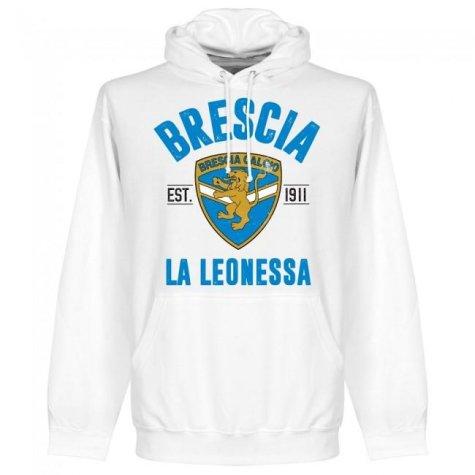 Brescia Established Hoodie - White