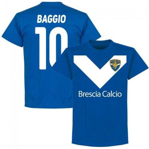 Brescia Roberto Baggio Team T-Shirt - Royal