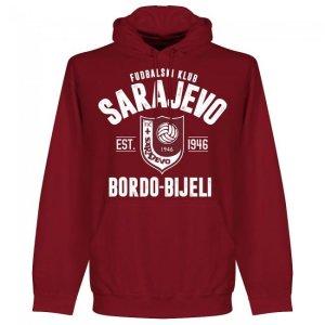 Sarajevo Established Hoodie - Maroon