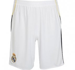09-10 Real Madrid home shorts - Kids