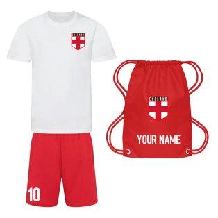 Personalised England Training Kit Package