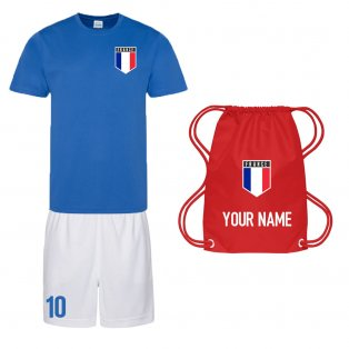 Personalised France Training Kit Package