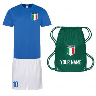 Personalised Italy Training Kit Package
