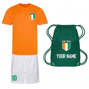 Personalised Ivory Coast Training Kit Package