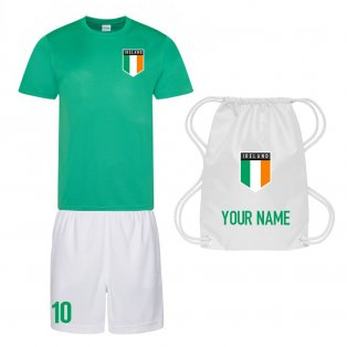 Personalised Republic of Ireland Training Kit Package