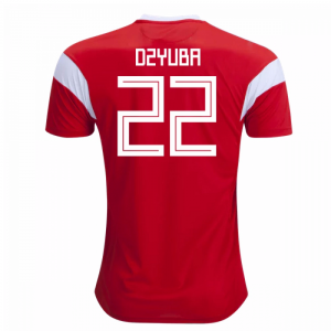 2018-19 Russia Home Shirt (Dzyuba 22) - Kids