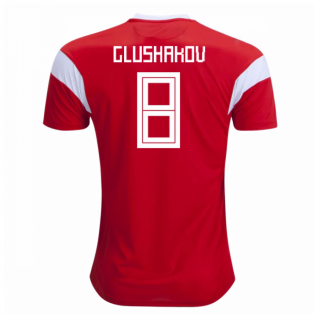 2018-19 Russia Home Shirt (Glushakov 8) - Kids