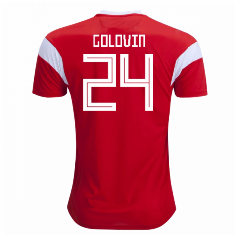 2018-19 Russia Home Shirt (Golovin 24) - Kids