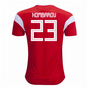 2018-19 Russia Home Shirt (Kombarov 23) - Kids