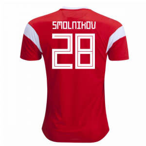 2018-19 Russia Home Shirt (Smolnikov 28) - Kids