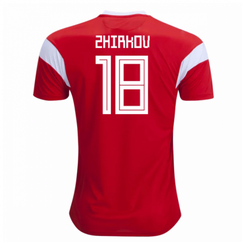2018-19 Russia Home Shirt (Zhirkov 18) - Kids