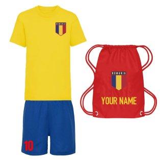 Personalised Romania Training Kit Package