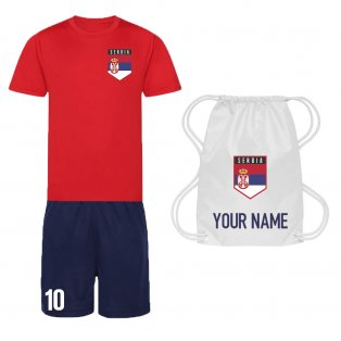 Personalised Serbia Training Kit Package