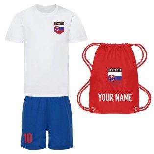Personalised Slovakia Training Kit Package