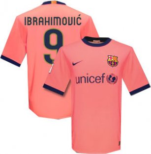 best sneakers 6f8b6 36a27 09-10 Barcelona away (Ibrahimovic 9)