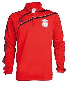 09-10 Liverpool Training Top (Red)