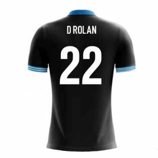 2020-2021 Uruguay Airo Concept Away Shirt (D Rolan 22) - Kids