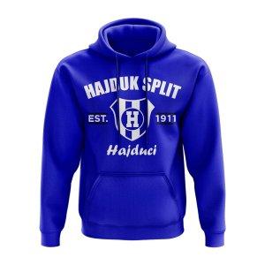 Hadjuk Split Established Hoody (Royal)