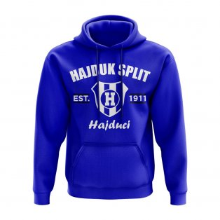 Hadjuk Split Established Hoody (Royal)