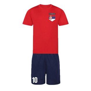 Personalised Serbia Training Kit