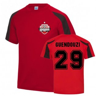 Matteo Guendouzi Arsenal Sports Training Jersey (Red)