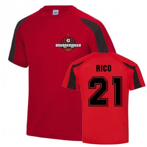 Diego Rico Bournemouth Sports Training Jersey (Red)