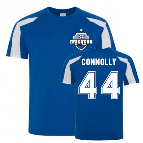 Aaron Connolly Brighton Sports Training Jersey (Blue)