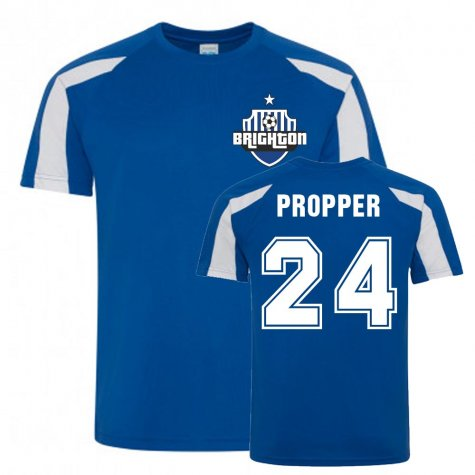 Davy Propper Brighton Sports Training Jersey (Blue)