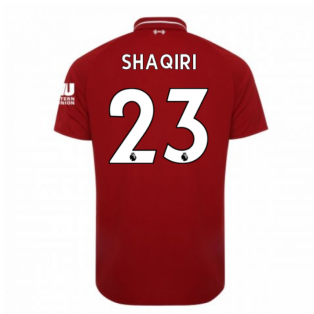 2018-2019 Liverpool Home Football Shirt (Shaqiri 23) - Kids