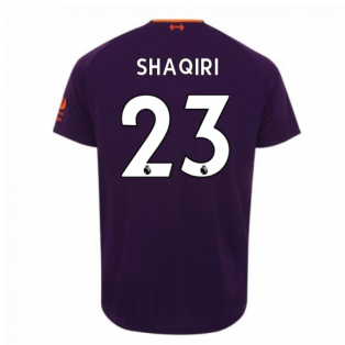 2018-2019 Liverpool Away Football Shirt (Shaqiri 23) - Kids