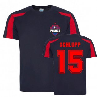 Jeffrey Schlupp Crystal Palace Sports Training Jersey (Navy-Red)