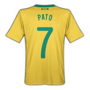2010-11 Brazil World Cup Home (Pato 7)