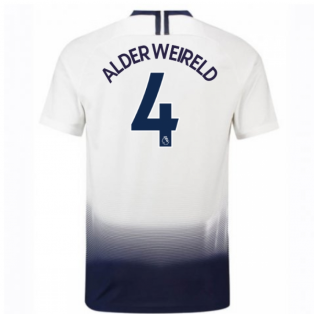 2018-2019 Tottenham Home Nike Football Shirt (Alderweireld 4) - Kids