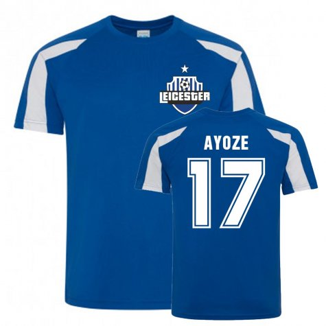 Ayoze Perez Leicester City Sports Training Jersey (Blue)