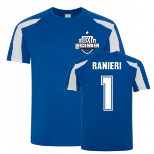 Claudio Ranieri Leicester City Sports Training Jersey (Blue)