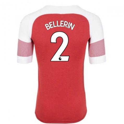 2018-2019 Arsenal Puma Home Football Shirt (Bellerin 2) - Kids