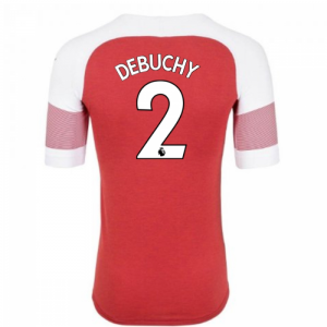 2018-2019 Arsenal Puma Home Football Shirt (Debuchy 2) - Kids