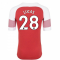 2018-2019 Arsenal Puma Home Football Shirt (Lucas 28) - Kids