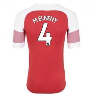 2018-2019 Arsenal Puma Home Football Shirt (M Elneny 4) - Kids