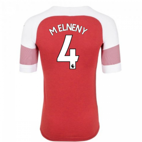 2018-2019 Arsenal Puma Home Football Shirt (M Elneny 4) - Kids