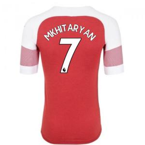 2018-2019 Arsenal Puma Home Football Shirt (Mkhitaryan 7) - Kids